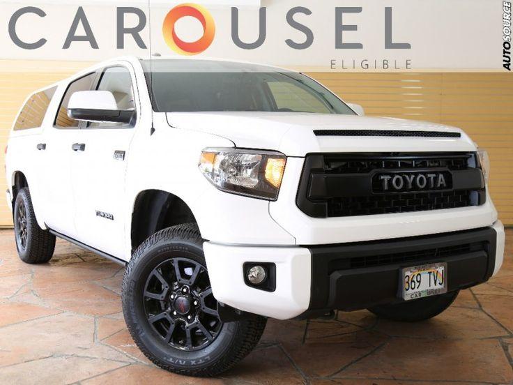 2015 Toyota TUNDRA 4X4 CrewMax TRD Pro $49995 http://www.autosourcehawaii.com/inventory/view/10056028