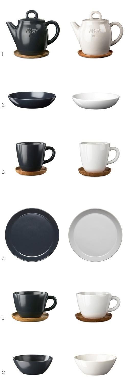 Beautiful ceramics by Swedish company, Höganäs Keramik.