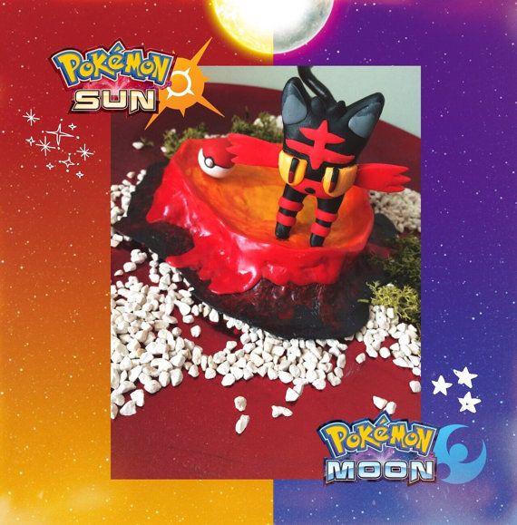 Pokemon-Sonne/Mond Feuer Starter-Litten Abbildung von NerdyCactus