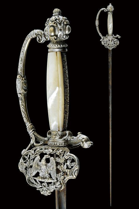 Small sword: provenance: France dating: mid-19th Century.   CZERNY'S