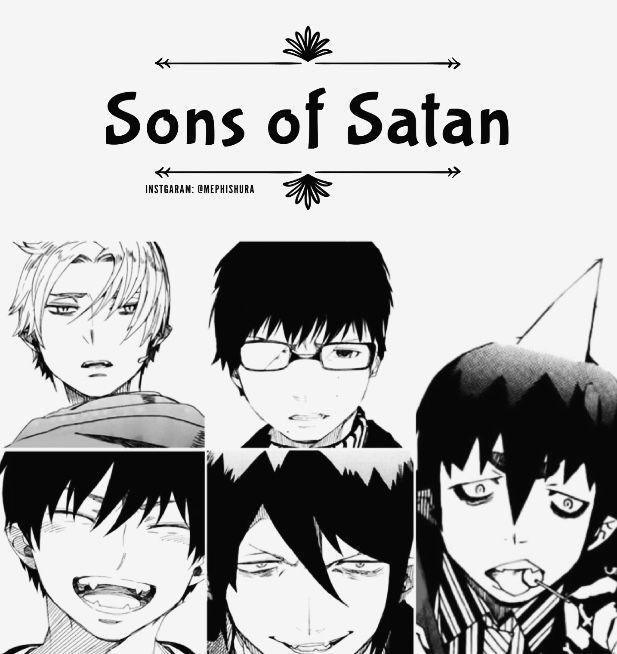 Sons Of Satan- Ao No Exorcist
