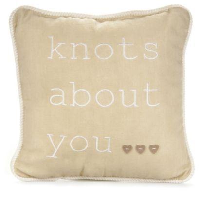 We're certainly knots about this cushion! #BalticSummer #Applique