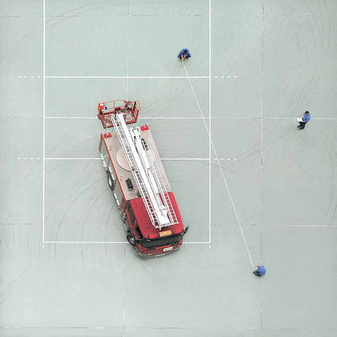 Daily Life Of Firemen From Above Captured By Chan Dick | iGNANT.de