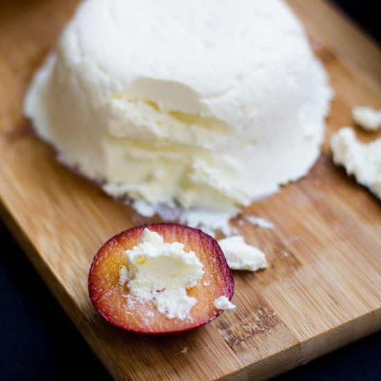 Learn how to make cream cheese with just two ingredients. Tastes just like Philly!