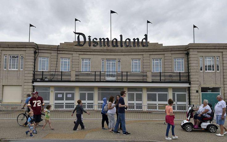 Banksy gör skrämmande nöjespark - DN.SE
