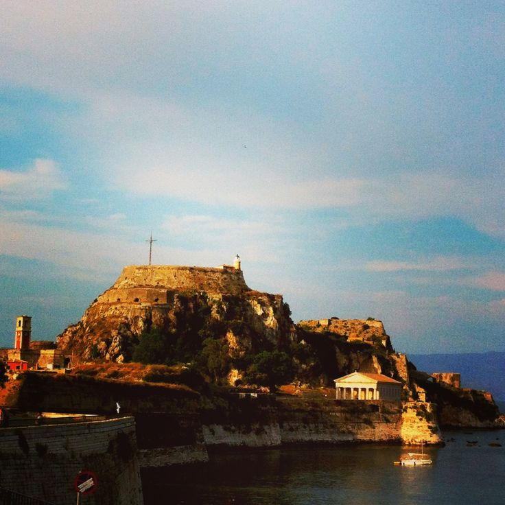 Corfu.Old fort