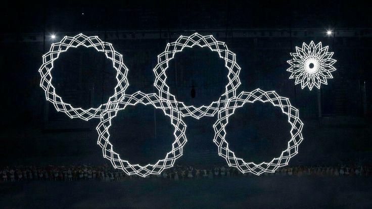 Bij de openingsceremonie van de Olympische Spelen in Sotchi (2014) ging één ring niet open. Zou daar ook een symboliek in schuilen?