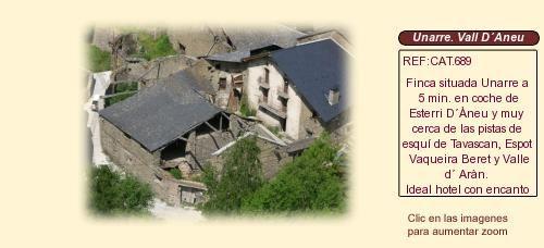 CAT689 Unarre Vall d'Àneu. Lleida  Casa rural en venta http://www.lancoisdoval.es/casas-rurales-en-venta.html