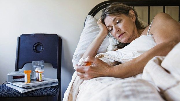 Menopause brings physical and emotional changes and, for some, addiction as a coping mechanism.