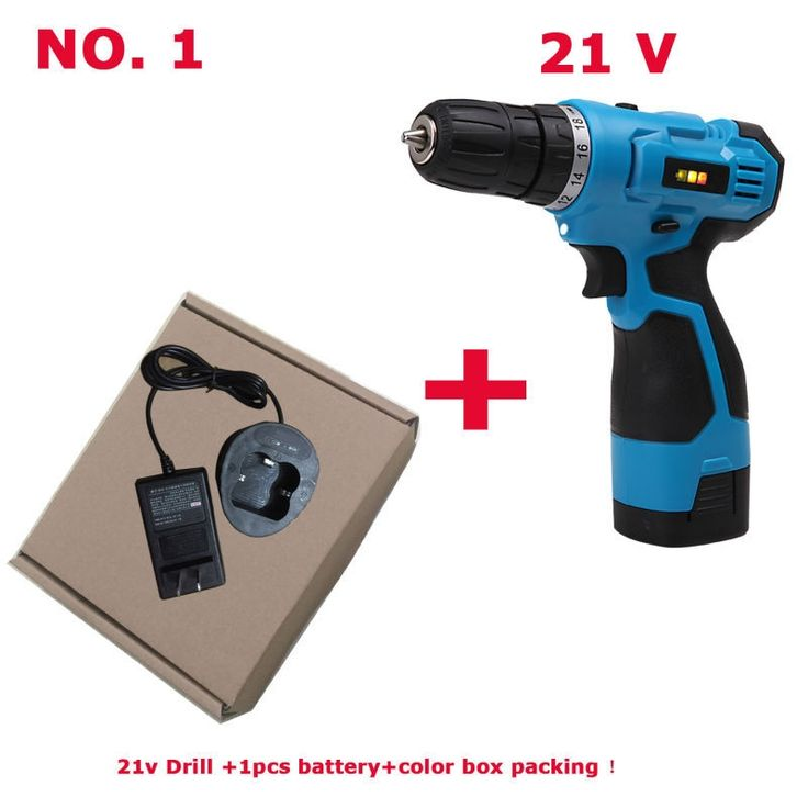 66.21$  Watch now - http://aliysx.worldwells.pw/go.php?t=32439943660 - Russia 21v Lithium Battery drill cordless drill battery drill Two-Speed Rechargeable Waterproof Hand Drill LED Light