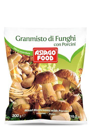 Granmisto di funghi con porcini 300g - Asiago Food