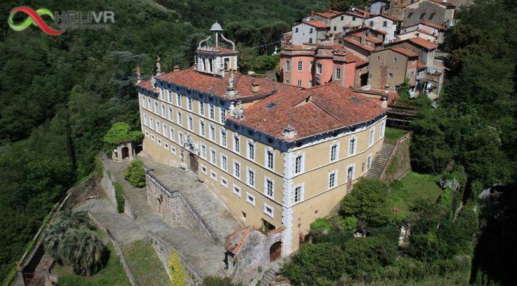 Collodi in Toscana Riprese aeree a Villa Garzoni http://www.helivr.com