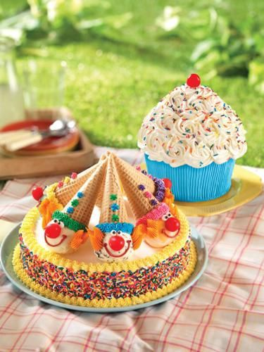 Baskin-Robbins Celebrates One Of The Most Common Birthday Months Of The Year With Lineup Of Festive Ice Cream Cakes.  (PRNewsFoto/Baskin-Robbins)