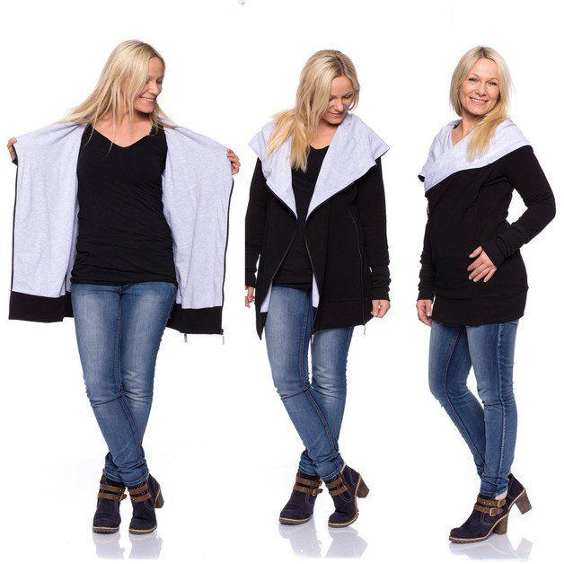 **Momo** ist für alle Jahreszeiten, von der Schwangerschaft über das Alter des Babytragens in einer Babytrage und auch darüber hinaus. Die zahlreichen Möglichkeiten dieser Jacke machen sie zu einer...