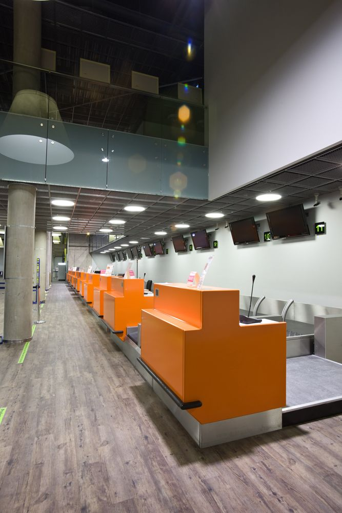 Interiors - Kaunas Airport Passenger Terminal