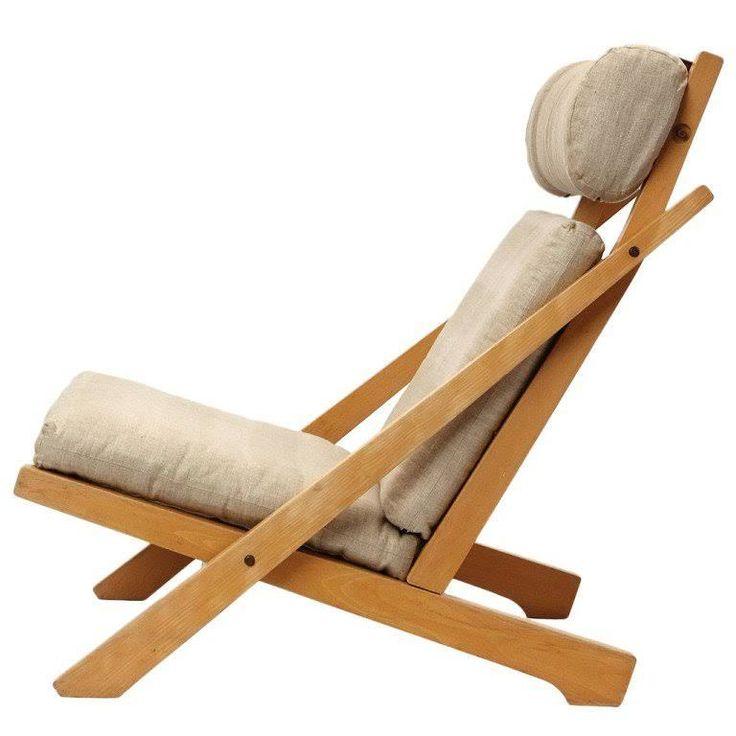 lounge chair by hans j wegner 1