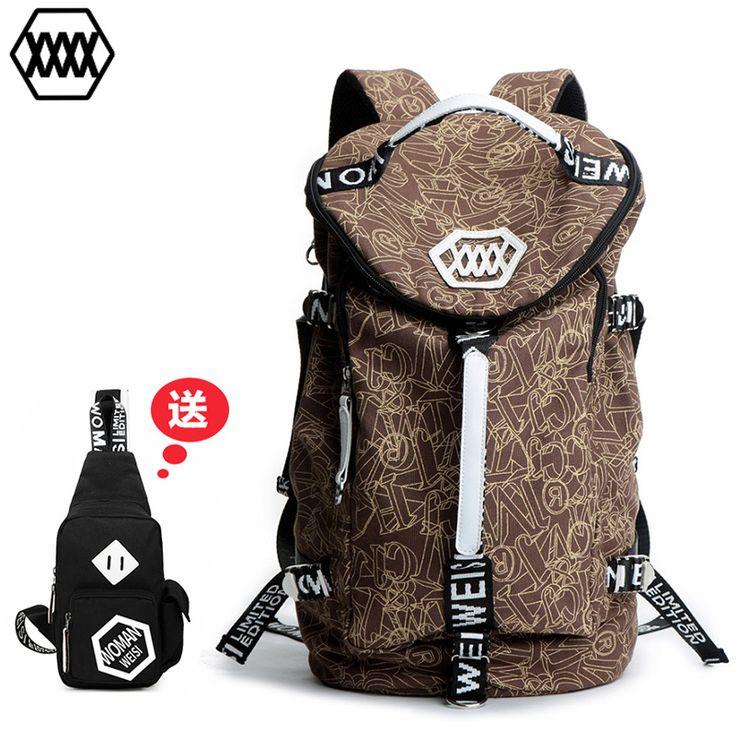 Уорман Висконсин прилив рюкзак мешок плеча человека сумки корейской версии нового крупнотоннажного вещевой мешок моды путешествия мешок -tmall.com Lynx