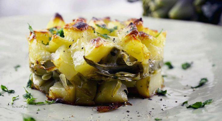 La ricetta del tortino di patate e carciofi, un piatto ricco di sapore e leggerezza, da preparare quando i carciofi sono di stagione e nel pieno del sapore