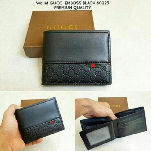 Temukan dan dapatkan Wallet GUCCI EMBOSS BLACK 60223 PREMIUM QUALITY hanya Rp 190.000 di Shopee sekarang juga! #ShopeeID   http://shopee.co.id/wfashioncenter/1435298