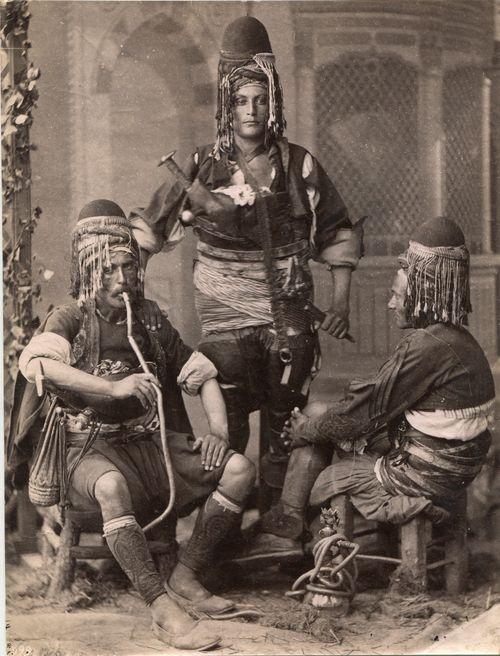 Ottoman Bachi-bouzouks, Ottoman Empire 1875