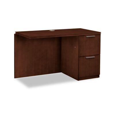 HON VW182RC1Z9FF Arrive Series Wood Veneer Return for Single Pedestal Desk #VW182RC1Z9FF #HON #GreenReturns  https://www.officecrave.com/hon-vw182rc1z9ff.html