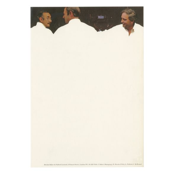 Letterhead and envelope   Alan Fletcher