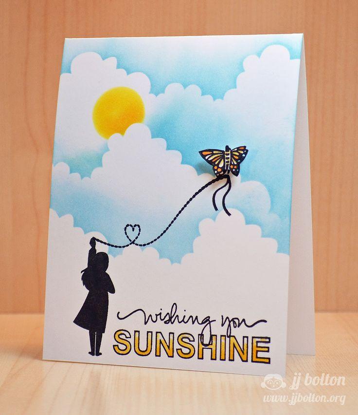 JJ Bolton {Handmade Cards}: Mama Elephant Stamp Highlight: So Breezy