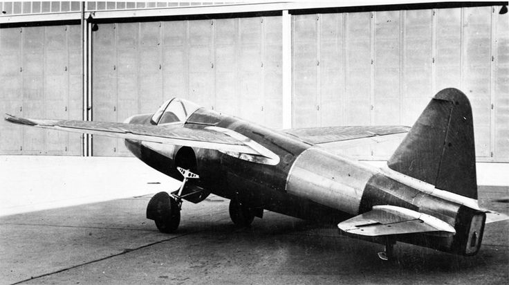 This was the first operating practical jet fighter  of WW11 the Heinkel He178