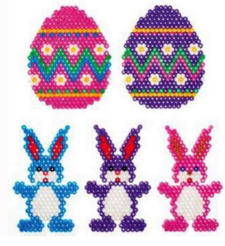 Easter bunnys and eggs