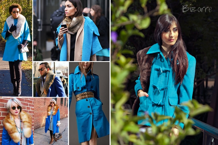 coat, blue, fur, fashion