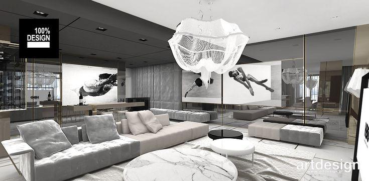 ON TOP OF THE WORLD   Luksusowe wnętrze apartamentu