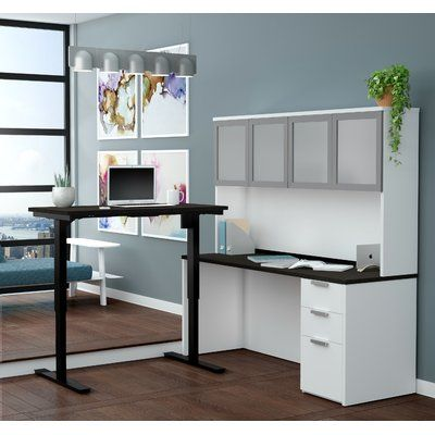 Best 25 Corner Desk With Hutch Ideas On Pinterest L
