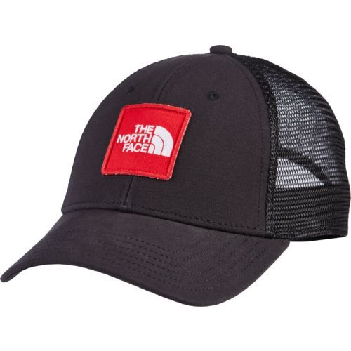 e6b7c92e The North Face Adults' Mountain Lifestyle Patches Trucker Hat (Black, Size  One Size) - Men's Outdoor Apparel, Men's Hunting/Fishing Headwear at Aca.