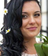 свадебная прическа, прическа на свадьбу, невеста, прическа на черные волосы, сборы невесты, свадебный стилист, стилист, свадебный макияж,