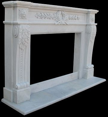 Marble Fireplace Mantle Surround