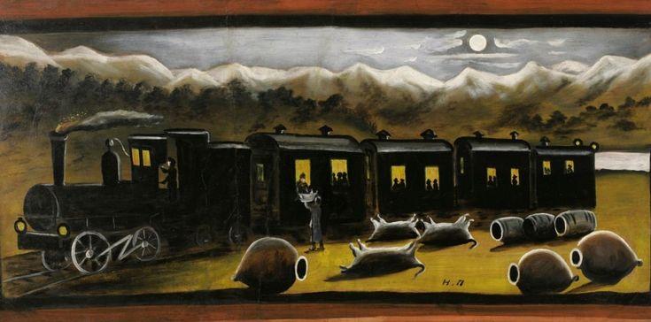Кахетинский поезд, Нико Пиросмани