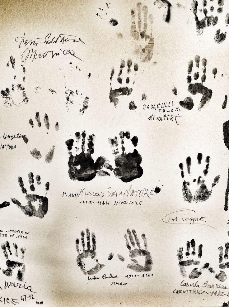 Le impronte dei minatori #minieraserbariu