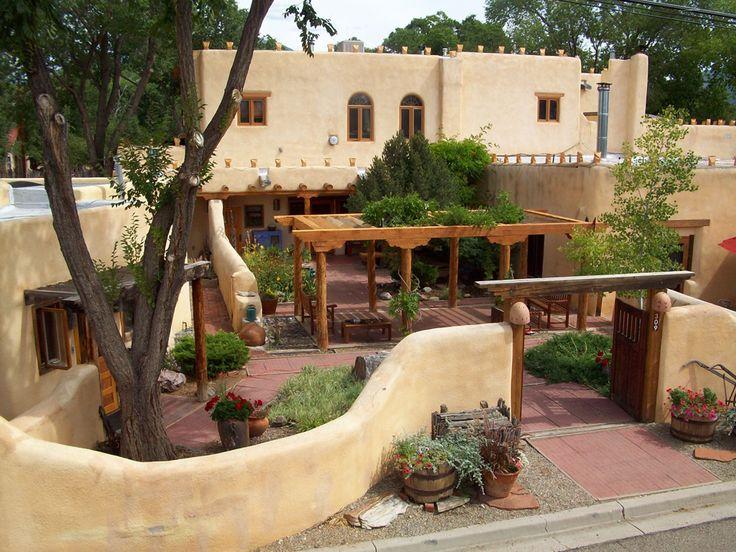 front yard courtyards la posada de taos front courtyard