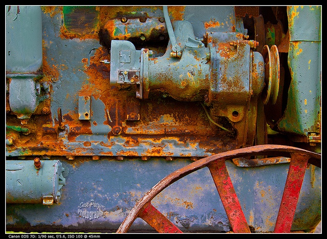 Intensified Tractor by Dave Putzier, via Flickr
