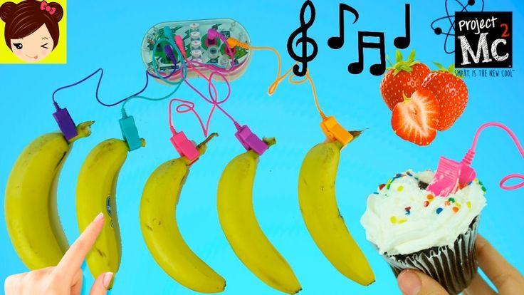 Toca Musica con Bananas Cupcakes Fresas y Comida - Project Mc2 Juguete  ...