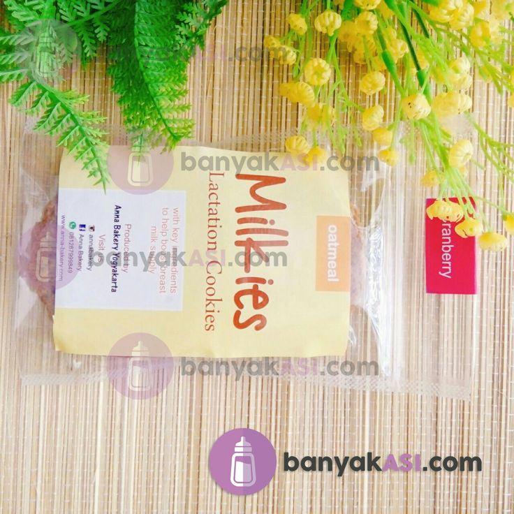 Milkies lactation cookies - makanan pelancar asi - visit site : banyakasi.com - WhatsApp / Line : 085292794986