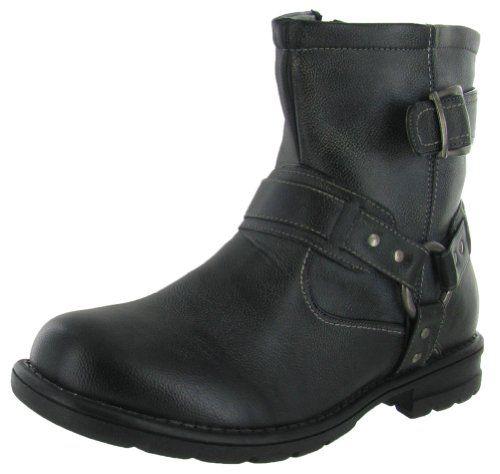 Moda Essentials Men's Combat Boots Work Boots Military Black Size 10.5 - http://authenticboots.com/moda-essentials-mens-combat-boots-work-boots-military-black-size-10-5/