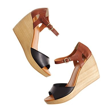 Ohhh lala - Madewell.com item 64516: Shoes, Summer Styles, Madewell Streetsid, Streetsid Sandals, Wedge Sandals, Madewell Sandals, Wedges Sandals, Brown Sandals Wedges, Summer Wedges