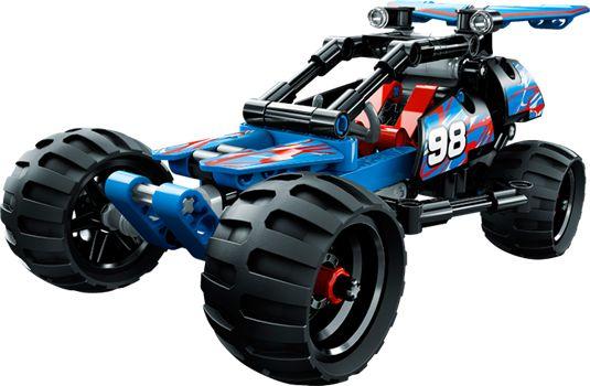LEGO TECHNIC 42010 Maastokilpuri. 24,95 €.