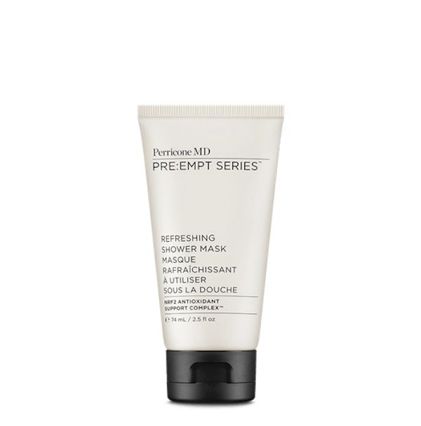 This is very clever and unlike any face mask I have tried before. It definitely does maximise your time in the morning as its specifically developed to be used in the shower to refresh, tone and hydrate skin in one easy step. Its light gel format stays put on skin while you shower and is activated by the shower's heat and steam to enhance the benefits. Genius!