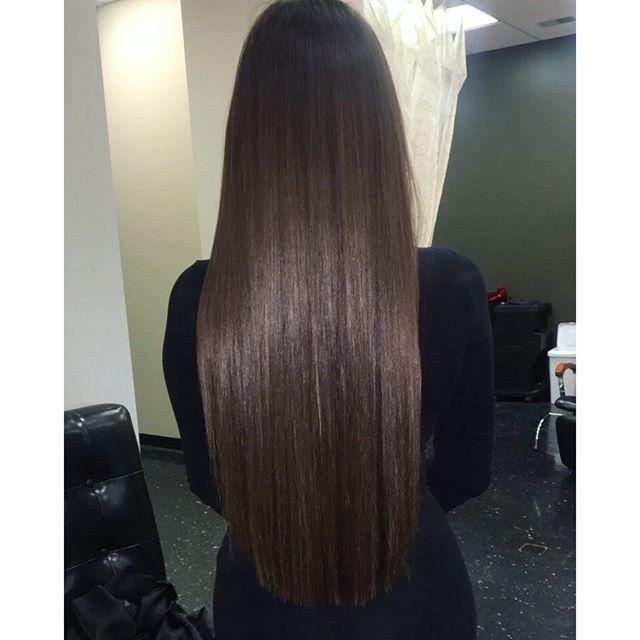 grow long hair hair laid brunette hair healthy hair straight hair long ...