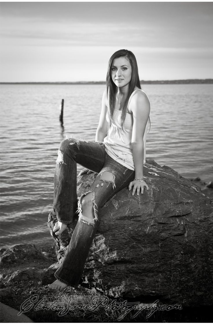 Senior Picture With Water
