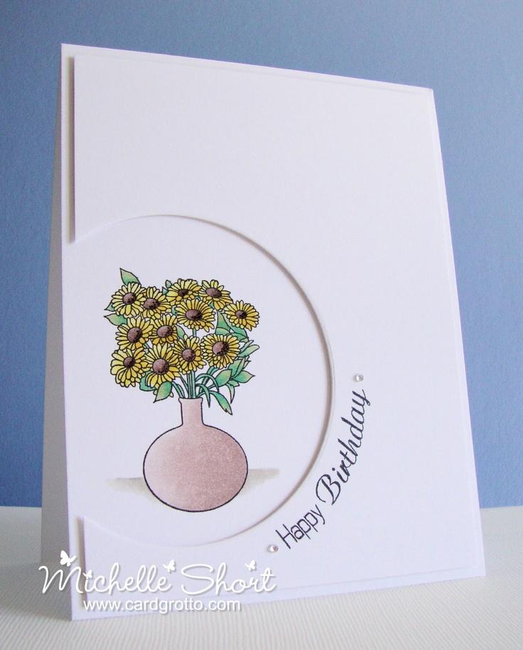 The Card Grotto: Sunflower Birthday