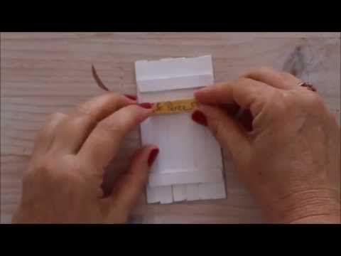EL NIDO de mamá gallina: DIY: COMO HACER UNA PUERTA MÁGICA PARA EL RATÓN PÉREZ Y UN CESTITO PORTA DIENTES (VIDEO-TUTORIAL)