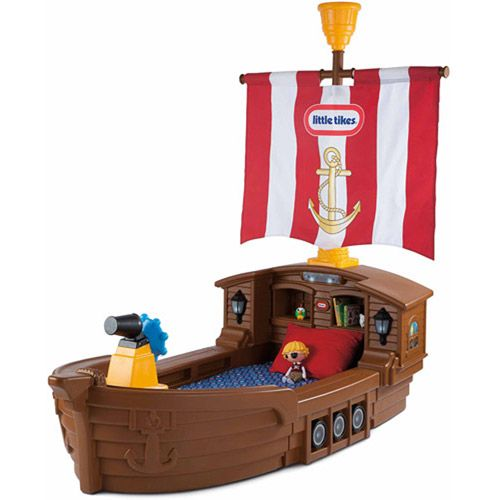 Pirate Toys For Boys : Little tikes pirate ship toddler bed
